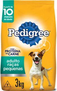Pedigree Raças Pequenas Carne 3kg