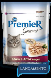 Sachê Premier Gourmet Gatos Atum 70 g