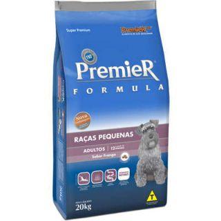 Ração Premier Fórmula Cães Raças Pequenas  Adultos Frango 2,5kg