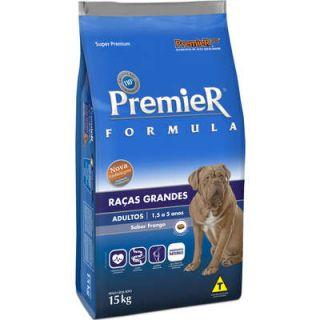 Ração Premier Fórmula Cães Raças Grandes Adultos Frango 15kg