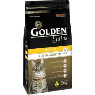 Ração Premier Golden Gatos Adultos Frango