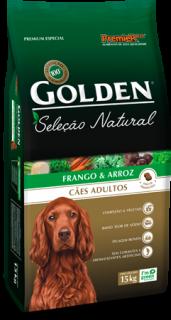 Ração Premier Golden Seleção Natural Cães 3kg - Arroz e Frango - Filhote