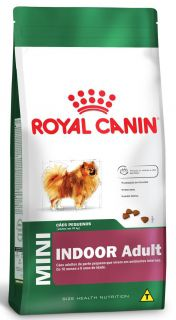 Ração Seca Cão Royal Canin Super Premium Mini Indoor Adult