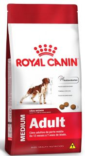 Ração Seca Royal Canin Cão Super Premium Medium Adult 2,5kg