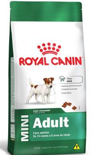 Ração Seca Royal Canin Cão Super Premium Mini Adult
