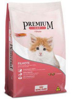 Ração Seca Royal Canin Premium Gato Filhote 1kg