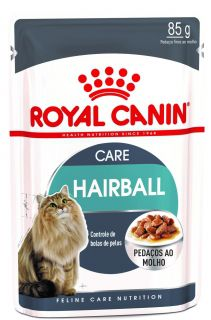 Ração Úmida Royal Canin Gato Care Nutrition 85g HairBall Care