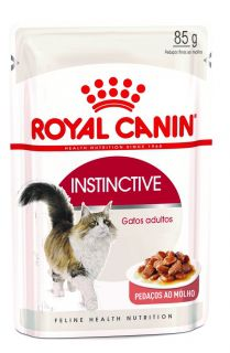 Ração Úmida Royal Canin Gato Care Nutrition Instinctive 85g
