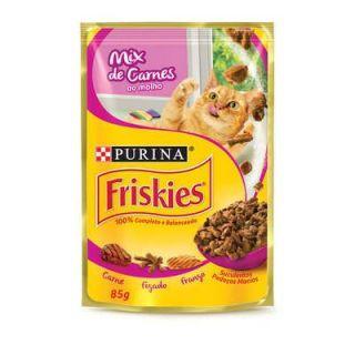Sachê Friskies Purina Mix de Carne ao Molho