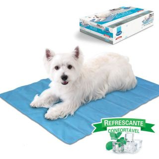 Tapete Gelado Refrescante Pet Cooling Mat