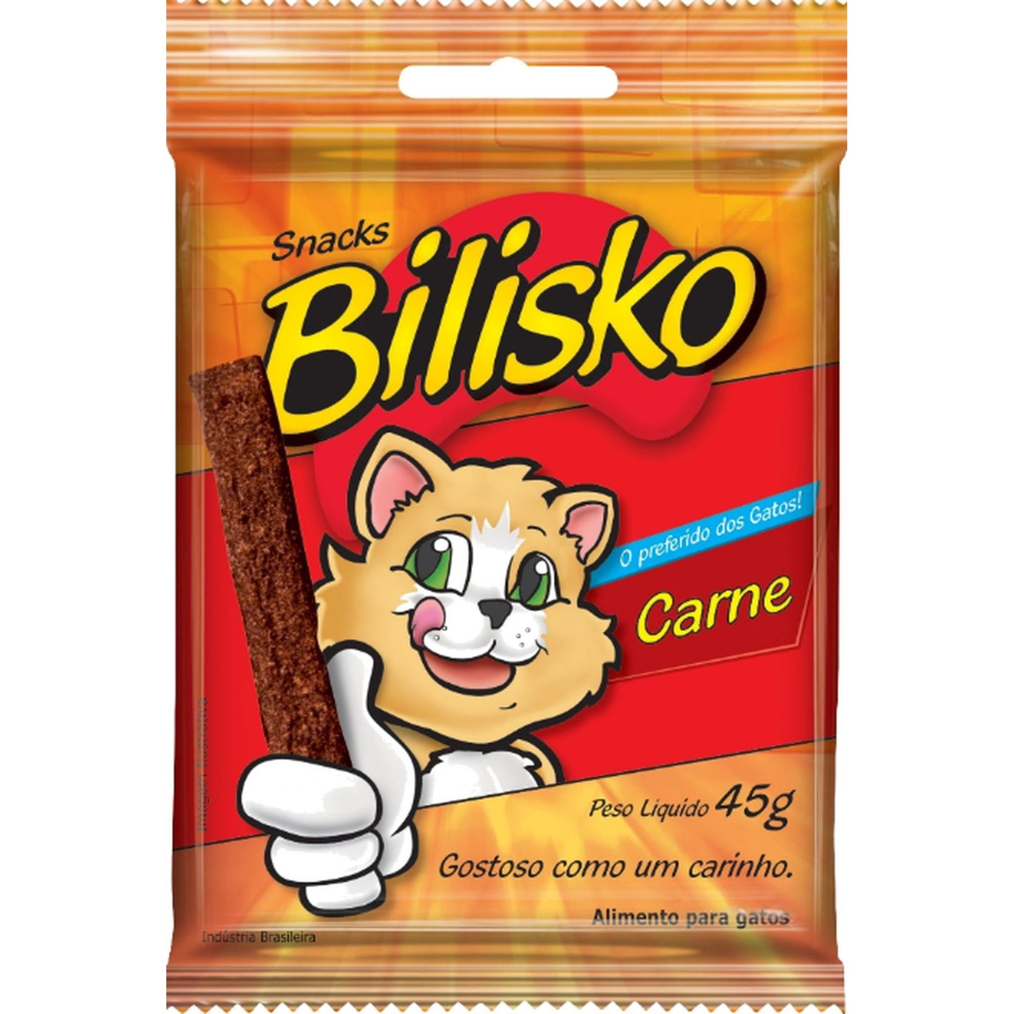 Barrinha Bilisko Carne Petisco 45g