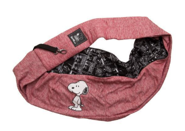 Bolsa Sling Bag Snoopy Smile Vermelha