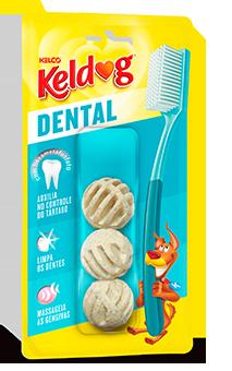 Dental Kelco Petisco Snack para Cães Bolinha