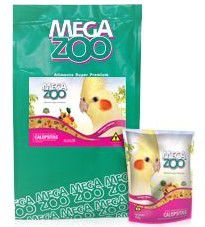 Ração para Calopsita Extrusado Frutas e Legumes Megazoo 350g