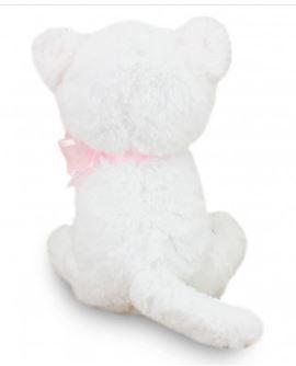 Gatinha de Pelúcia Branca