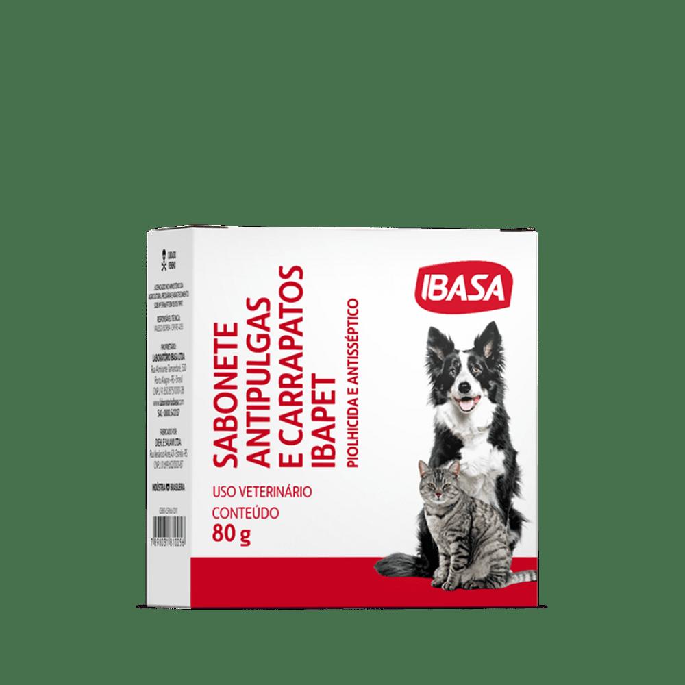 Kit Anti-Pulgas Banho Básico Ibasa com 3 Itens