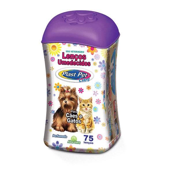 Lenços Umedecidos Perfumado Para Cães e Gatos