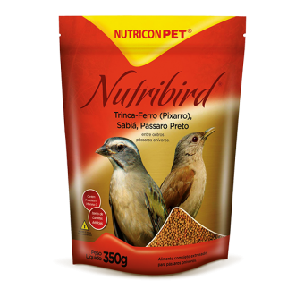 Nutricon Nutribird Pássaros Aves 350g