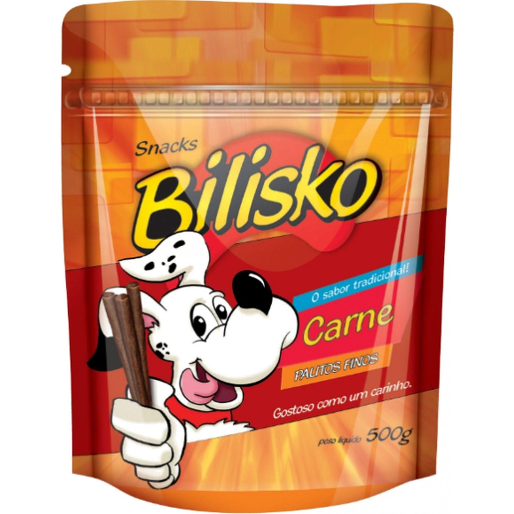 Petisco Bilisko Palito Fino Carne 500g