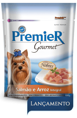 Sachê Premier Gourmet Cães Salmão 100g