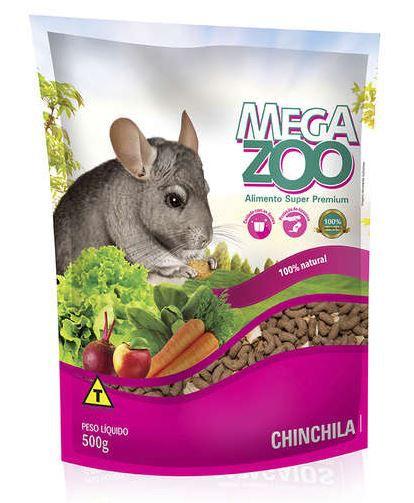 Ração para Chinchila Megazoo 500gr