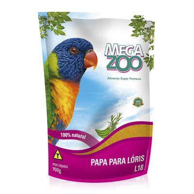 Ração Megazoo Papa para Lóris L18 900g - Venc em 13/9/19