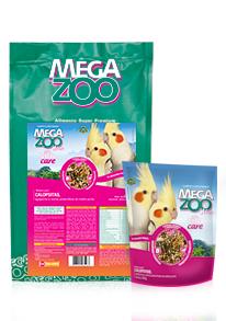 Ração Mix para Calopsitas Megazoo 350g