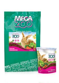 Ração para Coelhos Ornamentais Megazoo 500g