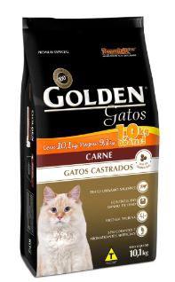 Ração Premier Golden Gatos Castrados Carne