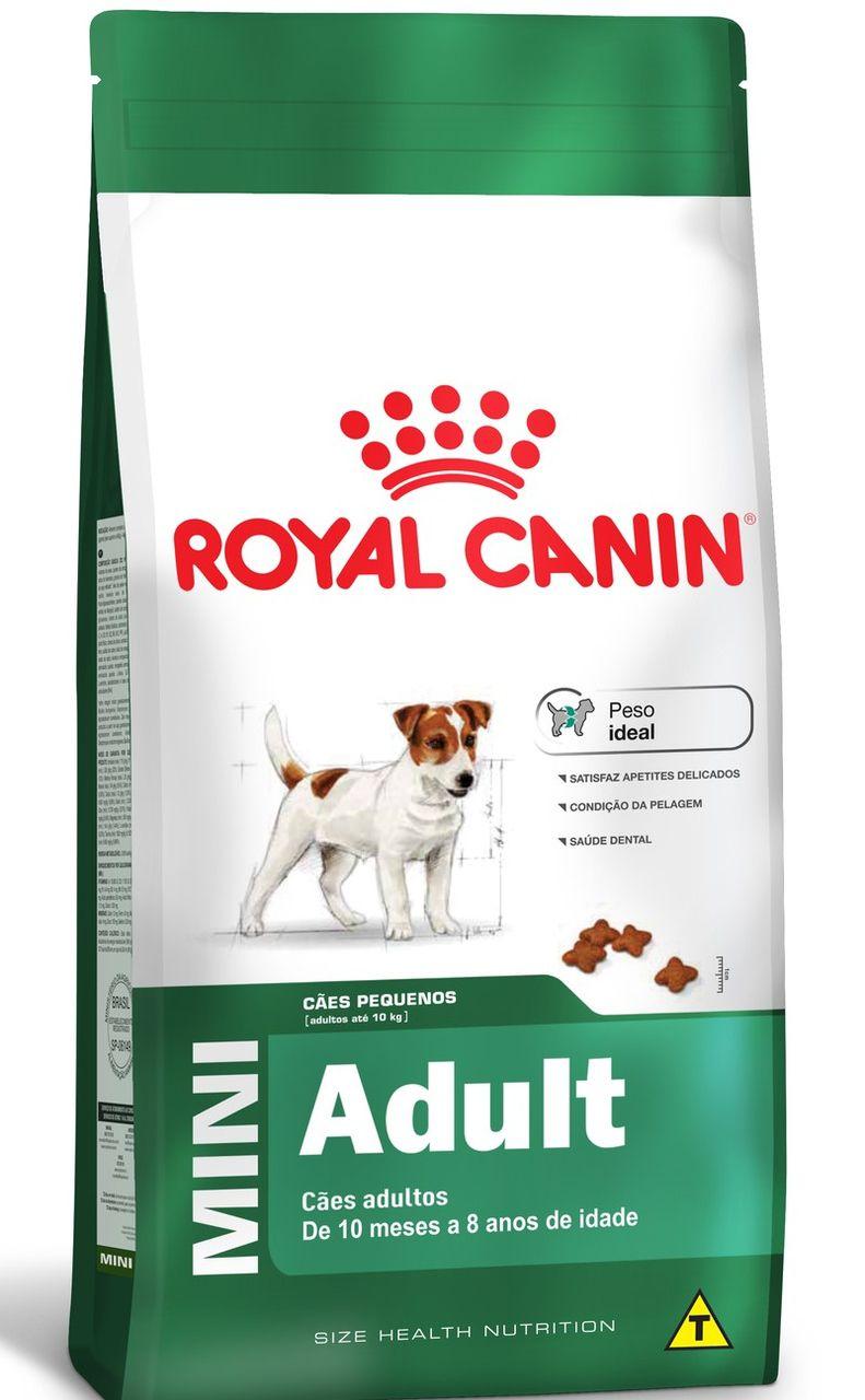Ração Seca Royal Canin Cão Super Premium Mini Adult