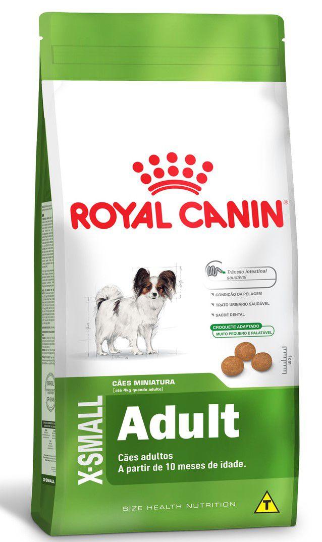 Ração Seca Royal Canin Cão Super Premium X-Small Adult