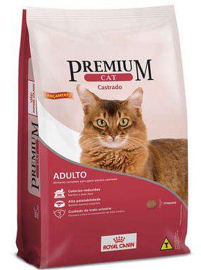 Ração Seca Royal Canin Premium Gato Castrado 1kg