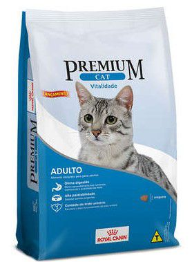Ração Seca Royal Canin Premium Gato Vitalidade 1kg