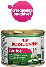 Ração Úmida Royal Canin Cão Latinha 195g Mini Junior