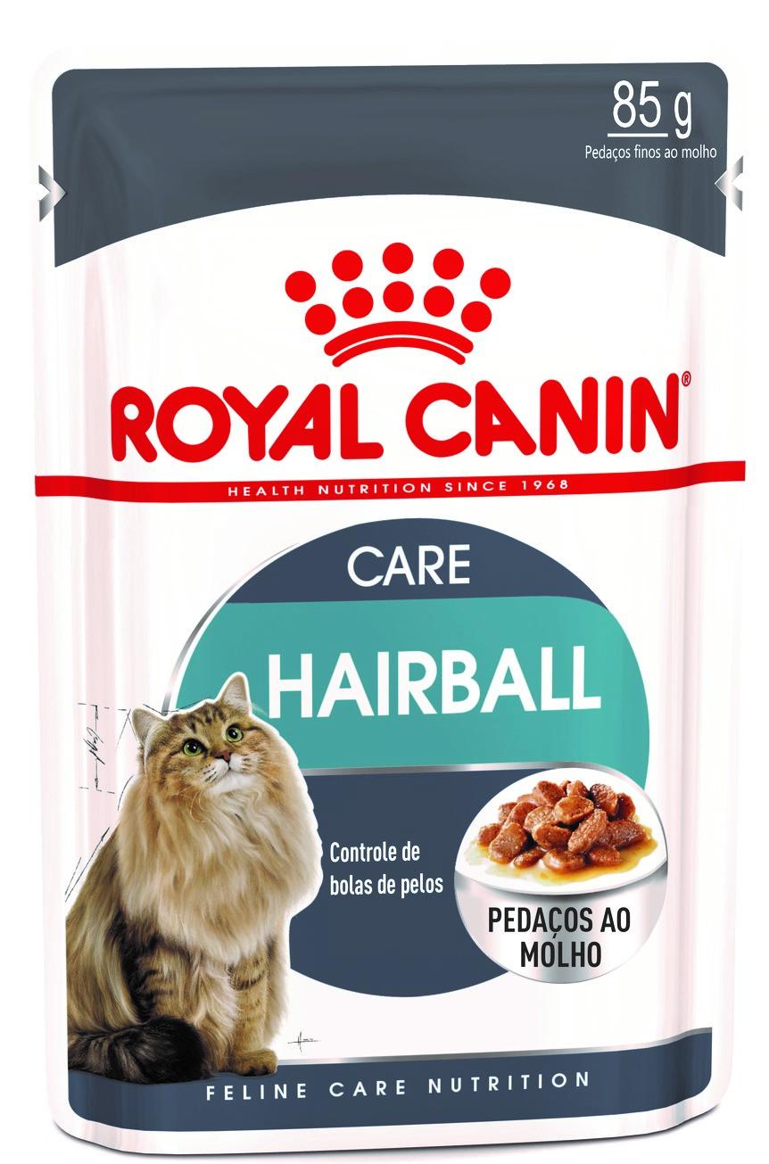 Ração Úmida Royal Canin Gato Care Nutrition 85g HairBall Care