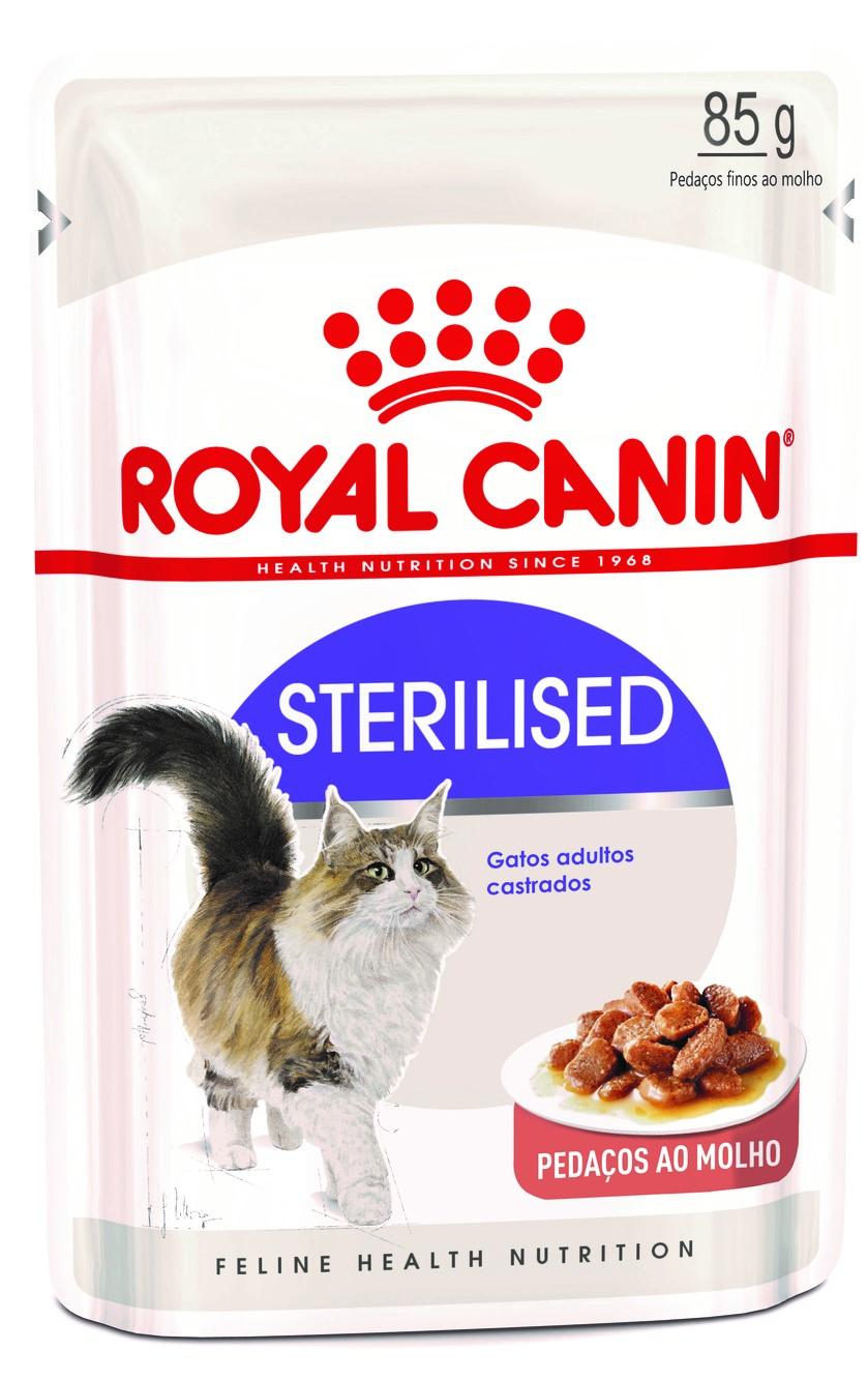 Ração Úmida Royal Canin Gato Care Nutrition 85g Sterilised