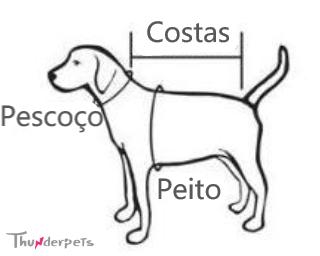 """Roupa Roupinha Pós-Cirúrgica Unissex para Cão ou Gato """"Tô dodói!"""""""