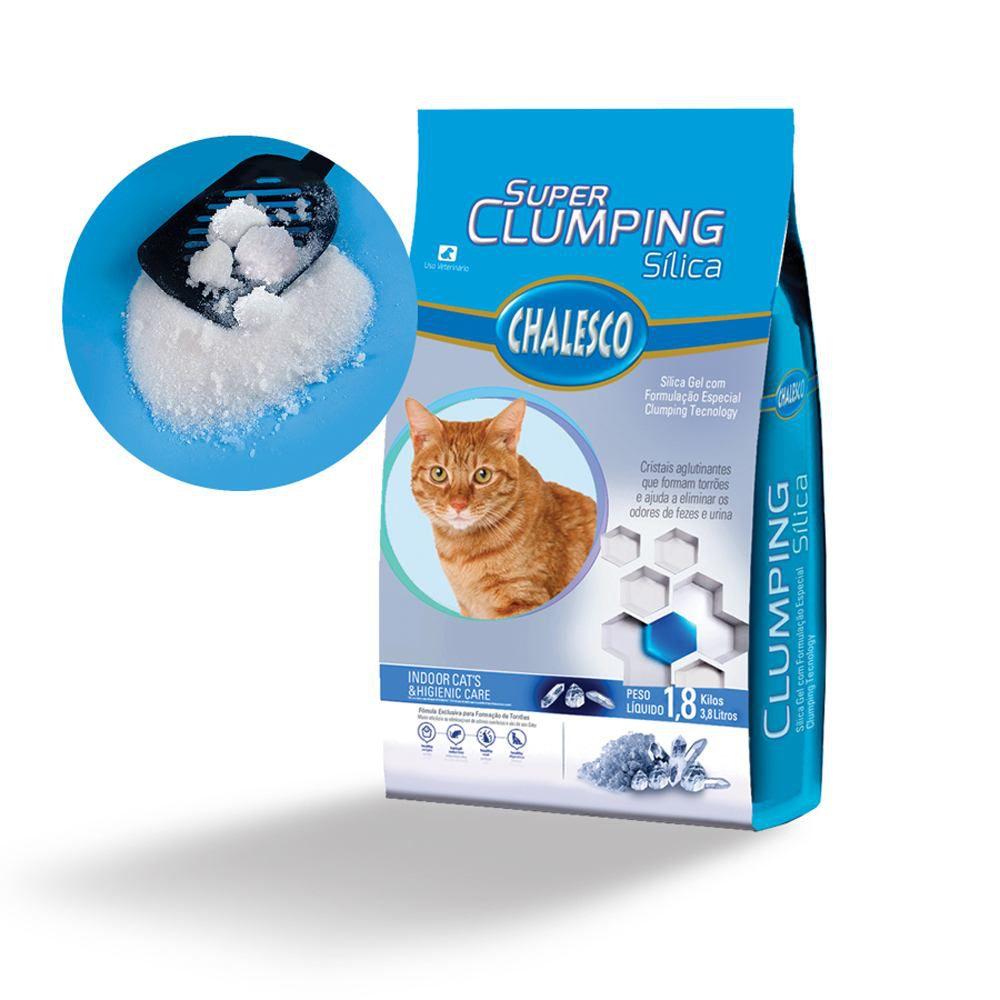 Sílica SuperClumping Chalesco 1,8 kg