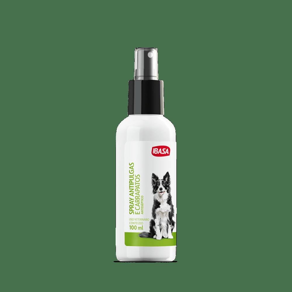 Spray Antipulgas e Carrapatos Ibasa