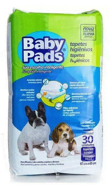 Tapete Higiênico Baby Pads 30 unids