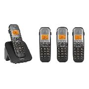 Kit Telefone Intelbras S/fio Ts 5120 Branco + 3 Ts 5121