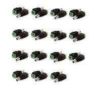 Kit Com 30 Conectores P4 Macho Borne Cftv