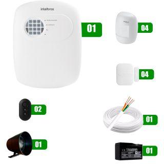 Kit Alarme Intelbras ANM 3004  01
