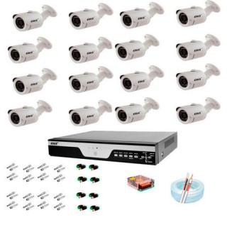 Kit cftv ahd 16 canais Bullet onelectronics