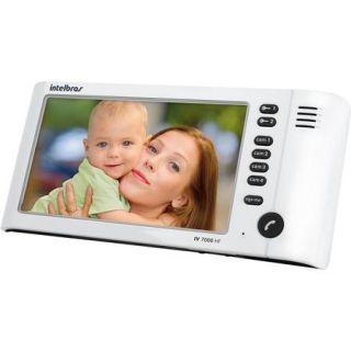Modulo Interno P/Vídeo Porteiro IV 7000 IN HF Branco