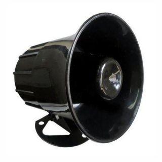Sirene Corneta P/Alarme 6 Níveis de Volume 120DB LKS-212