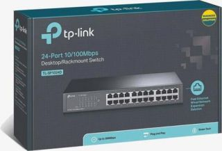 Switch 24 Portas 10/100 MBPS TLSF1024D