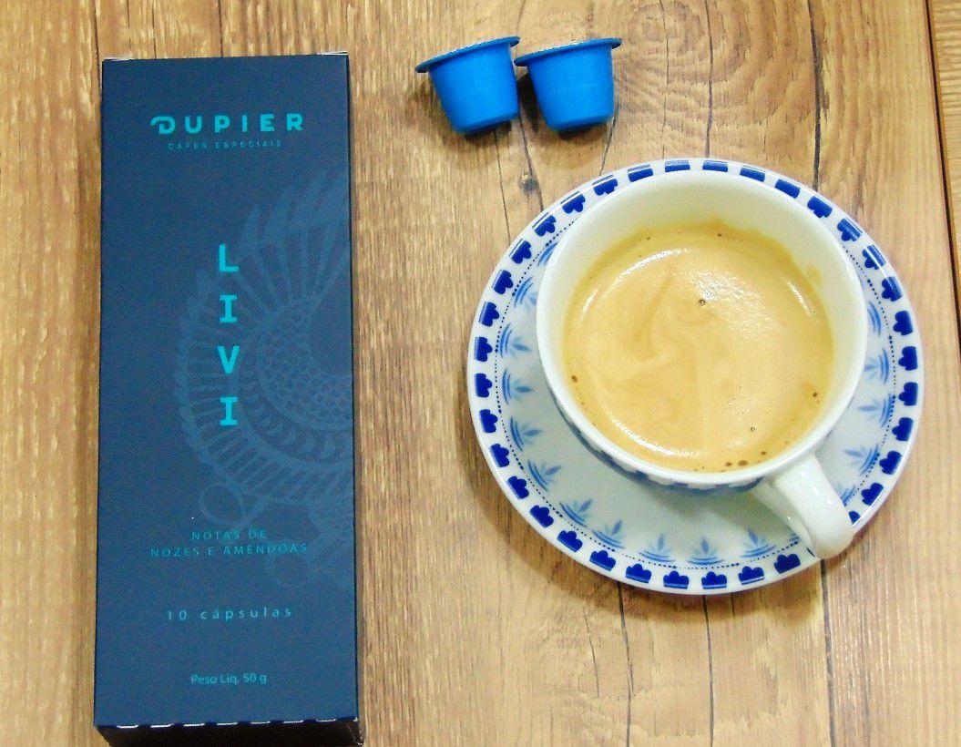 Café em Cápsulas Dupier LIVI