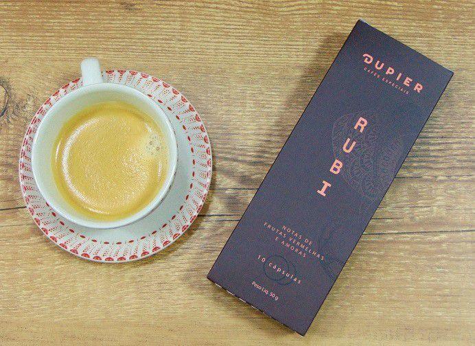 Café em Cápsulas Dupier RUBI