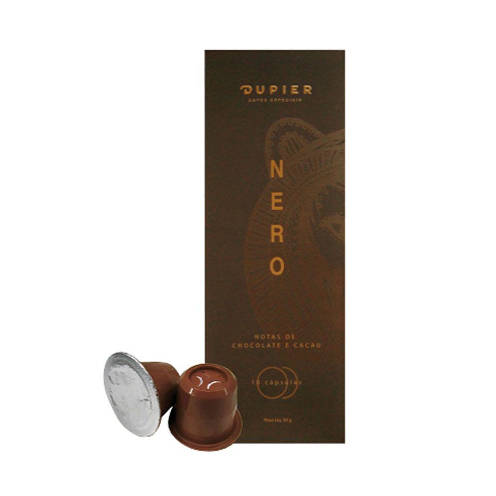 4. Café Dupier Nero – Notas de chocolate e cacau